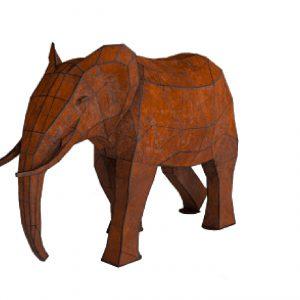 פסל מעוצב – פיל