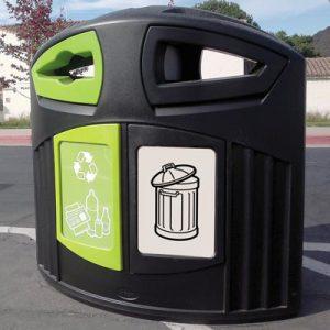 פח מחזור פסולת כללית / מגוון חומרים מתמחזרים 200  ®Nexus