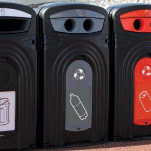 פח מחזור בקבוקי פלסטיק 360  ®Nexus